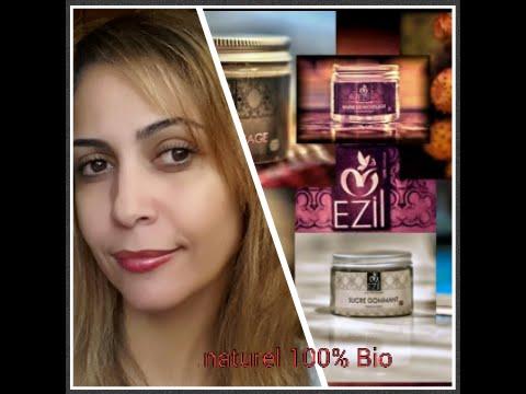 Decouverte de la marque cosmétique  EZIL produits  NATUREL 100% BIO