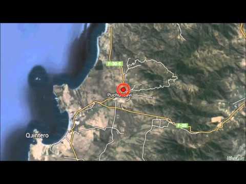 M 6.6 EARTHQUAKE - VALPARAISO, CHILE - August 23, 2014