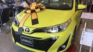 Xe Toyota Yaris 2019 G đủ màu, giao ngay trong tháng 1.2019 giá tốt