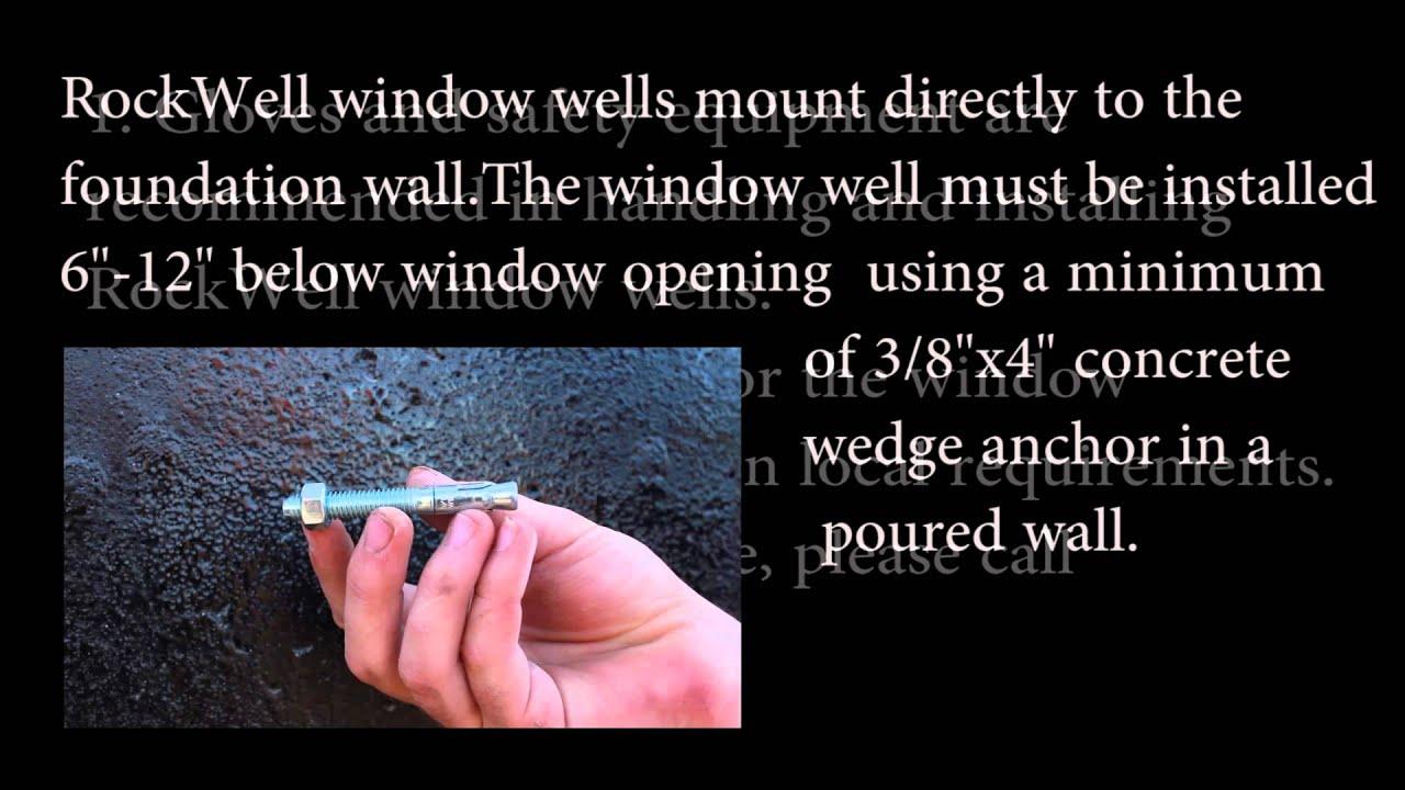 Rockwell Window Wells slideshow and installation