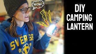 How to make a camṗing lantern (DIY)