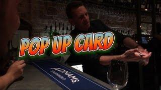 Pop up card live at Magical Mayhem.