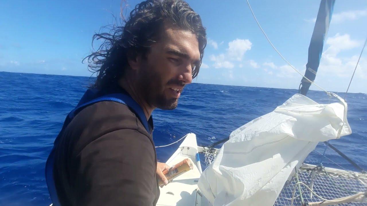 Download Le bateau se rempli d'eau!! Trans Atlantique nord #4 sur pahi 31 wharram catamaran