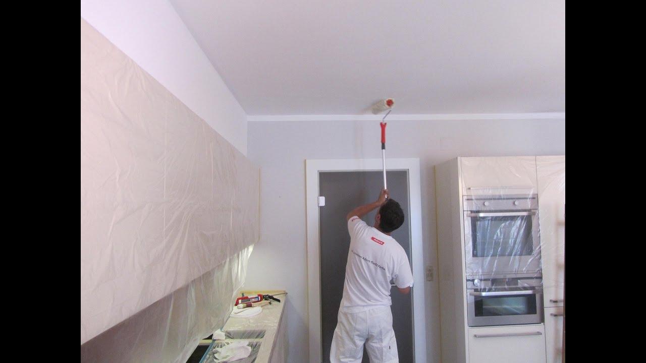 Pitturare le pareti di una cucina  YouTube