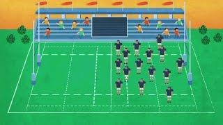 Las reglas del rugby