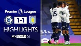 El Ghazi nets volley whilst Christensen down injured! | Chelsea 1-1 Aston Villa | EPL Highlights