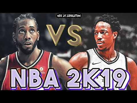 San Antonio Spurs vs Toronto Raptors - FULL GAME - NBA 2K19