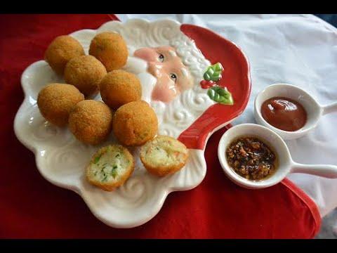 Kaas cassaveballetjes & Cassaveballetjes met Soja  (Vegetarisch & Vegan)