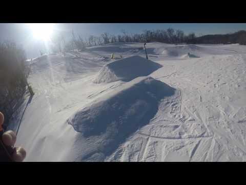 Snowboarding at Andes Matt's fail