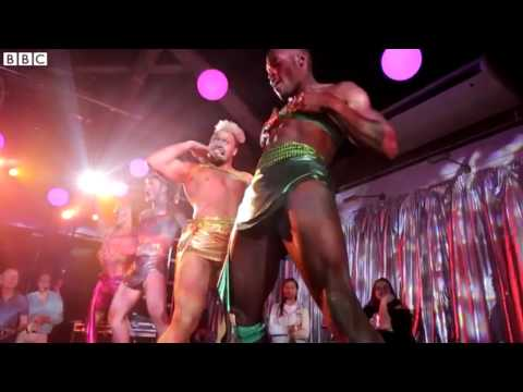 ANDROMEDA CIRCUS AT THE DONKEY SHOW LONDON