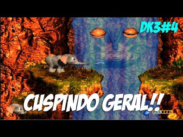 Donkey Kong Country 3 #4 - Cuspindo Geral