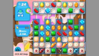 Candy Crush SODA SAGA level 74 basic strategy