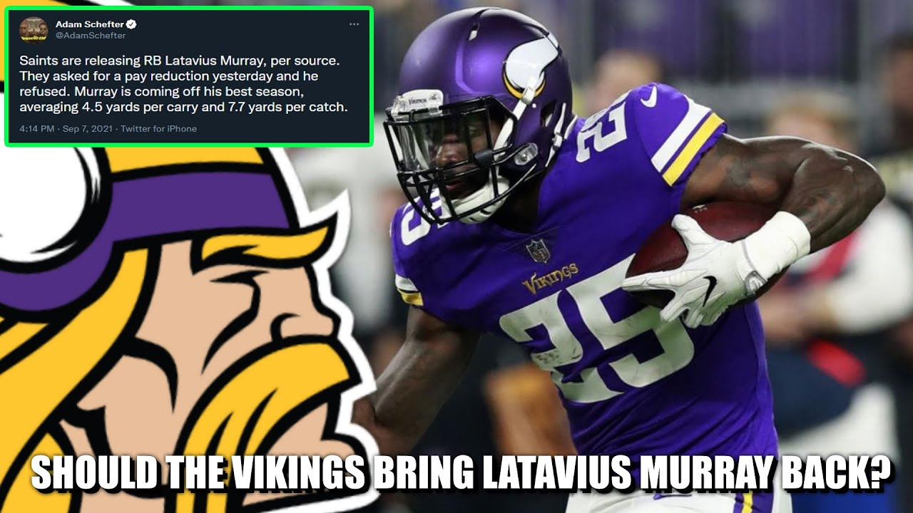 New Orleans Saints release running back Latavius Murray after he ...