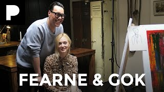 Fearne Cotton & Gok Wan Painting Challenge