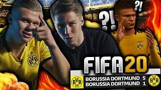 FIFA 20 CHALLENGE vs ERLING BRAUT HAALAND!! 👀💥 **Future Stars Haaland vs Old Boys Randulle**