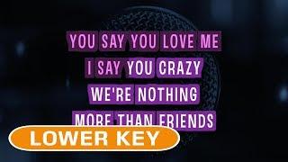 Friends Karaoke Lower Key Marshmello feat. Anne-Marie.mp3