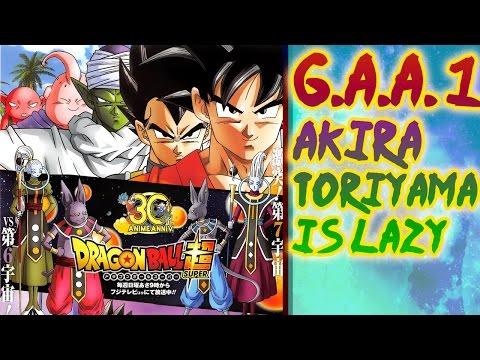 G.A.A.#1  (Games & Anime) - Kojima's freedom & Akira Toriyama is lazy