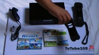 Nintendo Wii Black- Unboxing & Review