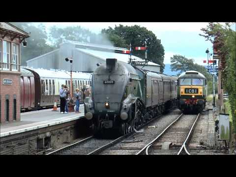 WSR. 60009 'Union of South Africa' on the West Somerset Steam Express Sat 12th August 2017.
