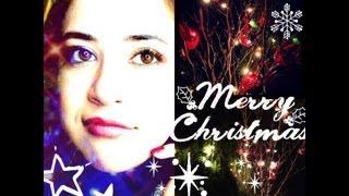 もうすぐクリスマス!ということで今回はChristmas Makeup ♪ 赤とグリー...
