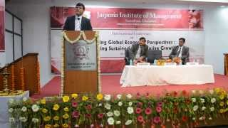 Prof.(Dr) Raj Singh, Vice Chancellor, GD Goenka University at JIM, Vasundhara,Ghaziabad