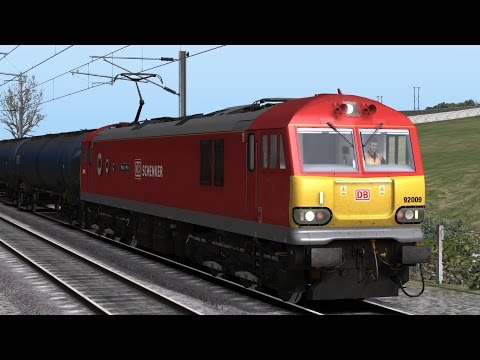 Train Simulator 2017: WCML North Downtown Oil Part 1 (Class 92 DB Schenker) HD
