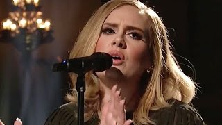 Adele's SNL Mic Feed Vocals Leaked & Saves Thanksgiving