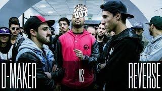 Liga Knock Out / EarBox Apresentam: D