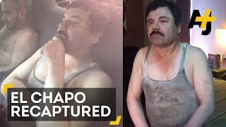 Fugitive Drug Lord 'El Chapo' Was Just Recaptured In Mexico