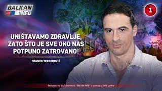 INTERVJU: Branko Teodorović - Uništavamo zdravlje, zato što je sve oko nas zatrovano! (16.11.2019)