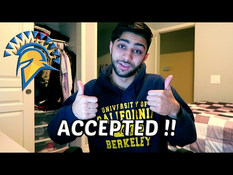 ACCEPTED TO SJSU !! ...but Not For Computer Science...