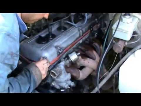 Двигатель isuzu 6HE 1 дизель на зил 131 Часть 1 - YouTube