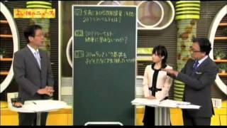 放射線量20ミリシーベルト/よい国のニュース 3/4