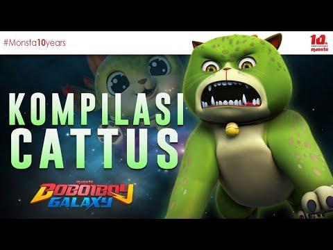 KOMPILASI CATTUS - BOBOIBOY GALAXY 🐱🐱🐱