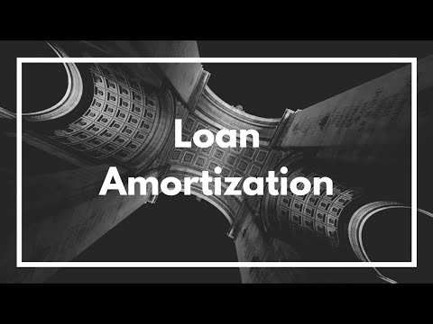 Excel Loan Amortization - for Mac and PC using PMT, PPMT, and IPMT
