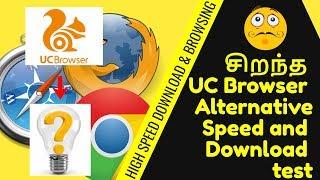 சிறந்த UC Browser Alternatives and Similar Software | Speed and Download test screenshot 3