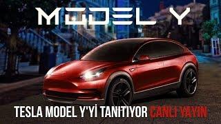Tesla, yeni elektrikli otomobili Model Y'yi tanıtıyor! CANLI YAYIN