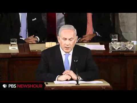 Benjamin Netanyahu Congress Speech - Iran Palestine