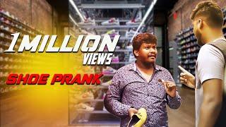 Prankster Rahul | Shoe Prank | prank video #1 | tamil prank show | pranks | PSR