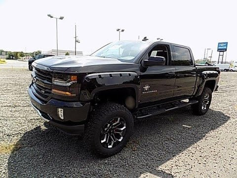Lifted Truck Black Widow 2016 Chevy Silverado 1500 LT Z71 ...