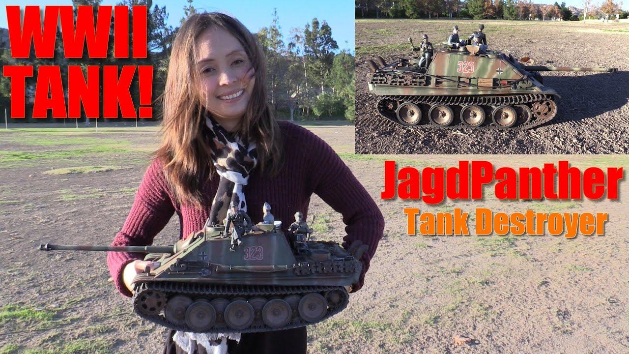 Remote Control Toys Rc Tank Wwii German Jagdpanther Tank