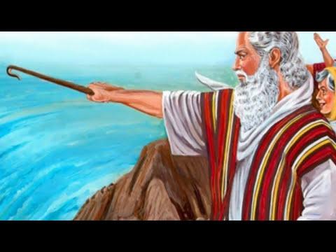 Moises Saca Al Pueblo De Israel De Egipto