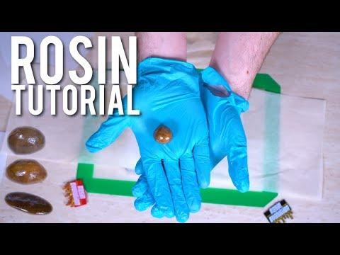 DIY ROSIN TUTORIAL: Beginners Guide to Making Rosin Dabs