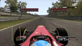 F1 2011 - Monza versus Legend AI
