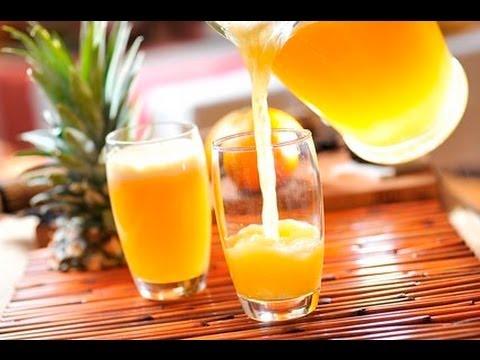 Agua de pina con mandarina recetas de aguas frescas de for Aguas frescas citricas naturales con