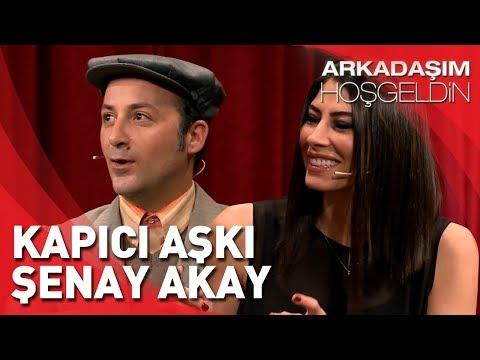 Arkadaşım Hoşgeldin | Tolga Çevik ve Şenay Akay | Kapıcı Aşkı