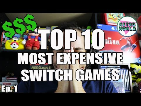 TOP 10 MOST EXPENSIVE NINTENDO SWITCH GAMES | Ep. 1
