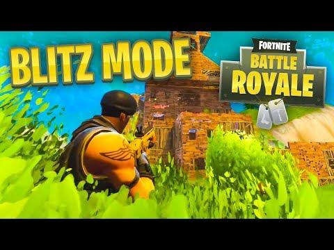 *NEW* BLITZ MODE - Fortnite Battle Royale LIVE