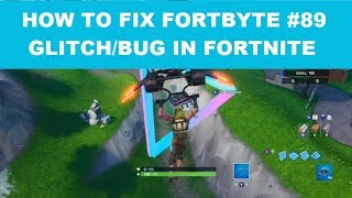 How to fix FORTBYTE #89 Glitch/Bug in Fortnite - Where are the rings??? With General Freak