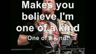 Rob Van Dam - One Of A Kind Lyrics